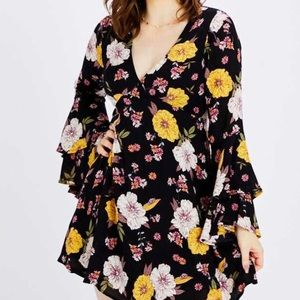 Alter'd State Floral Dress NWT